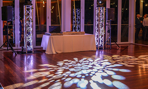 DJ lighting Perth